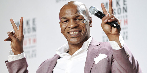 Mike Tyson is heading to Broadway. Photo / AP