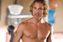 Matthew McConaughey is ready to spread his wings. Photo / Supplied