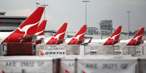 Qantas has featured in the top 10 in customer surveys but has not been able to translate that competitive advantage into reasonable returns. Photo / Getty Images