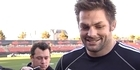 Watch: Rugby: All Blacks captain run before third test