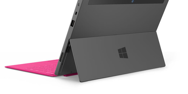 The back of the Microsoft Surface. Photo / Supplied