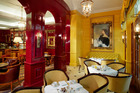 The lounge at The Goring Hotel in London. Photo / Supplied