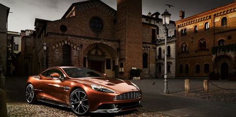 The new Aston Martin Vanquish.  Photo / Supplied