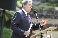 Winston Peters is back hitting headlines. Photo / File photo 