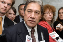 Winston Peters says New Zealand First is committed to buying back the shares at no greater price than paid by the first purchaser. Photo / NZ Herald
