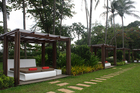 Club Med Phuket's new zen area has an adults-only infinity pool with its own bar and views over the bay. Photo / Supplied