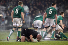 New rules which could be introduced to test rugby would see players suspected of receiving a head knock leaving the field for up to five minutes to be assessed. Photo / Getty Images