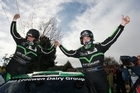 Kiwi rally star Hayden Paddon finished the 2012 Brother Rally New Zealand with a solid class win in S2000.