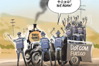 Keystone Cops on the DotCom case. Rod Emmerson