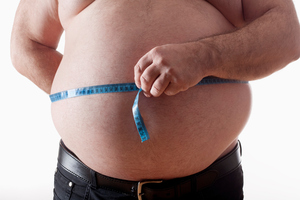 Depression has now been linked to excessive belly fat, scientists have found. Photo / Thinkstock