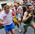 Competitors run during the Gay Pride High Heels race in Madrid. Photo / AP