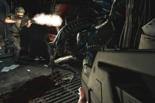 Players must combat xenomorphs and conquer fear in 'Alien: Colonial Marines.' Photo / Suppl