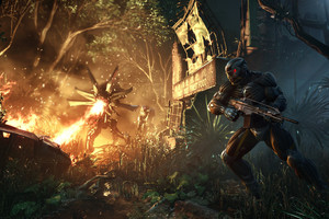 Crysis 3 looks good so far, but questions surround its playability. Photo / Supplied