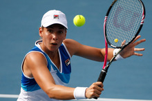 Marina Erakovic made a good start when she eased past Urszula Radwanska from Poland in her first-round match this morning. Photo / Getty Images. 
