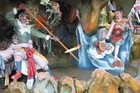 The Ten Courts of Hell at Haw Par Villa is a theme park of the damned and condemned, where plaster statuary shows gruesome scenes of disembowelment and torture. Photo / Creative Commons image by Wikimedia user Sengkang