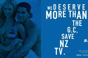 Supporters of TVNZ7 have also shared their support on their 'Save 7' Facebook page. Photo / Supplied
