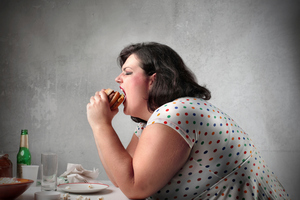 Eating junk food and sedentary lifestyles have become the new norm, and obesity is commonplace, where it was once freakishly unusual. Photo / Getty Images