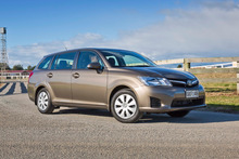 Toyota's new Corolla wagon trims fuel costs but seems a little short on excitement.