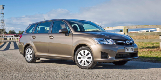 Toyota's new Corolla wagon trims fuel costs but seems a little short on excitement. Photo / Supplied