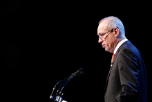 Fonterra chairman Sir Henry van der Heyden said yesterday's special meeting of shareholders had given the board a clear mandate to proceed with TAF. Photo / Christine Cornege