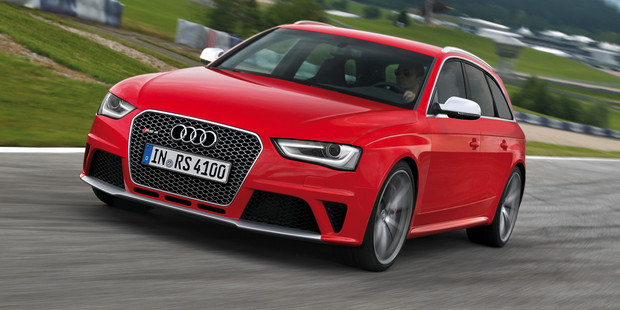 The new Audi RS 4 Avant. Photo / Supplied