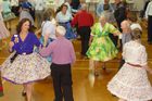 Square dancers at the national convention. Photo / Supplied