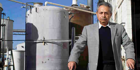 Jafar Davari's ChemRecovery has developed processes to transform waste into valuable raw materials. Photo / Richard Robinson