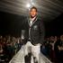 James Musa, football, models the formal dress wear. Photo / Brett Phibbs.