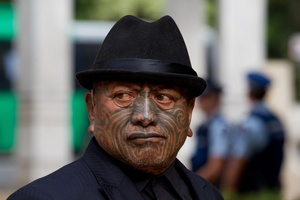 Tame Iti. Photo / Greg Bowker