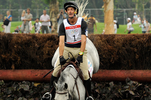 Mark Todd is a contender for gold in equestrian. Photo / Getty Images