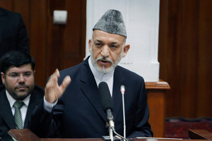 Afghan President Hamid Karzai. Photo / AP