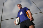 Nathan Harris, pictured here in the Bay of Plenty Times at the time of his announcement of inclusion in the Baby Black squad, has come forward over rape claims. Photo / BOP Times