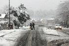 Bleak weather makes the situation tougher for Christchurch people. Photo / Christchurch Star