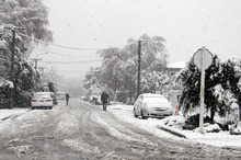 Winter's chill will be felt for some time to come on the local sharemarket and in Europe. Photo / APN