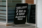 A loan shark has been fined for breaches of consumer credit law. Photo / Chris Skelton