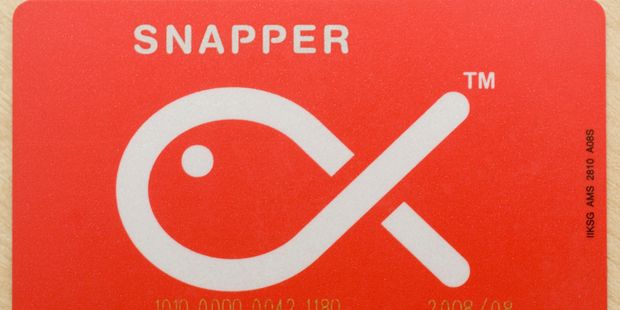 The Snapper card is designed to be used on various forms of public transport. Photo / Paul Estcourt