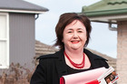 Wigram MP Megan Woods, seen here campaigning during last year's election, has apologised for comparing National party policies to those of Adolf Hitler. Photo / NZ Herald