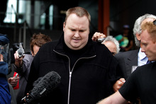 Kim Dotcom outside court earlier this year. Photo / File