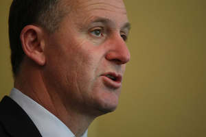 Labour MPs have begun to pfiss away whenever John Key stops speaking in Parliament. Photo / Greg Bowker