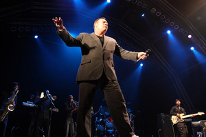 Ali Campbell performing at the Raggamuffin Reggae Festival in Rotorua earlier this year. Photo / The Daily Post