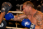 Heavyweight boxer Shane Cameron is heading for a sparring match with former champion David Haye. Photo / Brett Phibbs