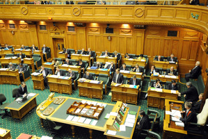 A bill allowing the partial sale of four state owned companies has passed in Parliament by one vote. File photo / NZPA