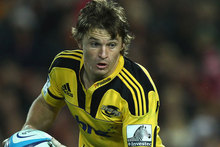 Beauden Barrett seems to take everything that gets thrown at him with a typically understated fashion. Photo / Getty Images. 