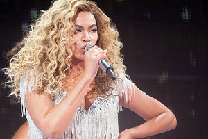 The origins of Beyonce's baby name, Blue Ivy, have been revealed. Photo / AP