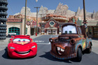 Join Lightning McQueen and Mater at California Adventure's new $1.1 billion Cars Land at Anaheim in Los Angeles. Photo / AP