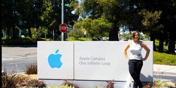 Judit Klein at  Apple. Photo / Supplied