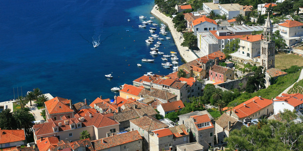 Cycling in Croatia can be challenging - but the visual symphonies revealed upon cresting its punishing hills make the effort worthwhile. Photo / Thinkstock