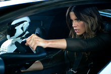 Kate Beckinsale in a scene from the new Total Recall film. Photo / Supplied