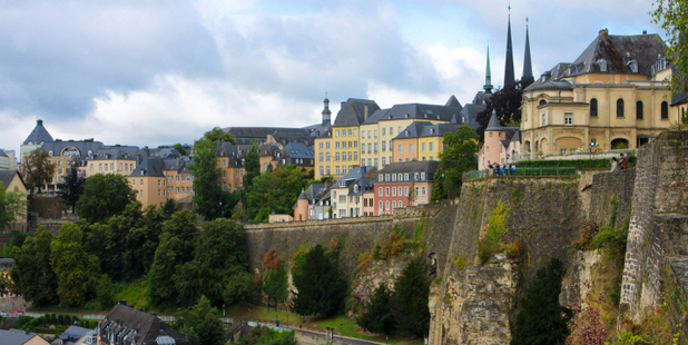 Luxembourg used to be one of the most fortified cities in Europe, and you can still walk along its ruined battlements. Photo / Thinkstock