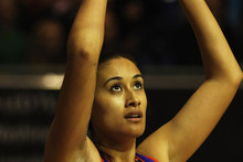 The Northern Mystics have taken the lead of the ANZ Championship with a 64-55 victory over the Canterbury Tactix in Christchurch. Photo / Getty Images. 